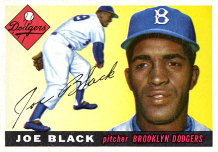 1955 Topps Joe Black #156 Baseball Card