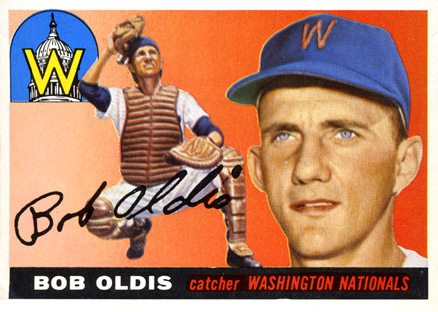 1955 Topps Bob Oldis #169 Baseball Card