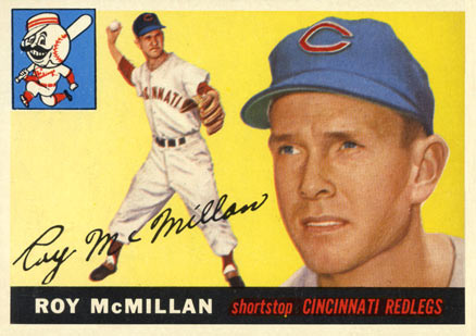1955 Topps Roy McMillan #181 Baseball Card