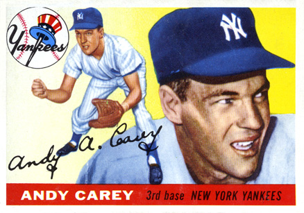 1955 Topps Andy Carey #20 Baseball Card