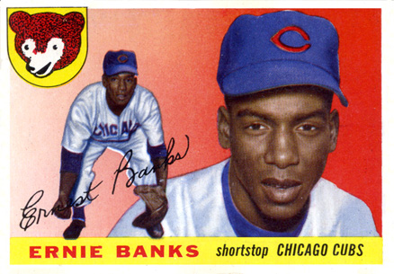 1955 Topps Ernie Banks #28 Baseball Card