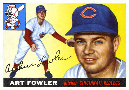 1955 Topps Art Fowler #3 Baseball Card