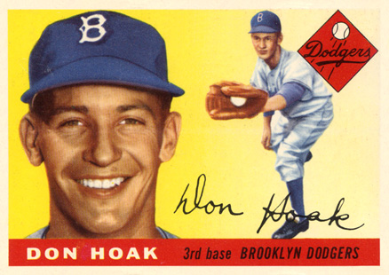 1955 Topps Don Hoak #40 Baseball Card
