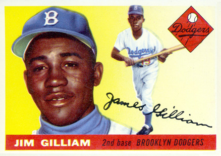 1955 Topps Jim Gilliam #5 Baseball Card