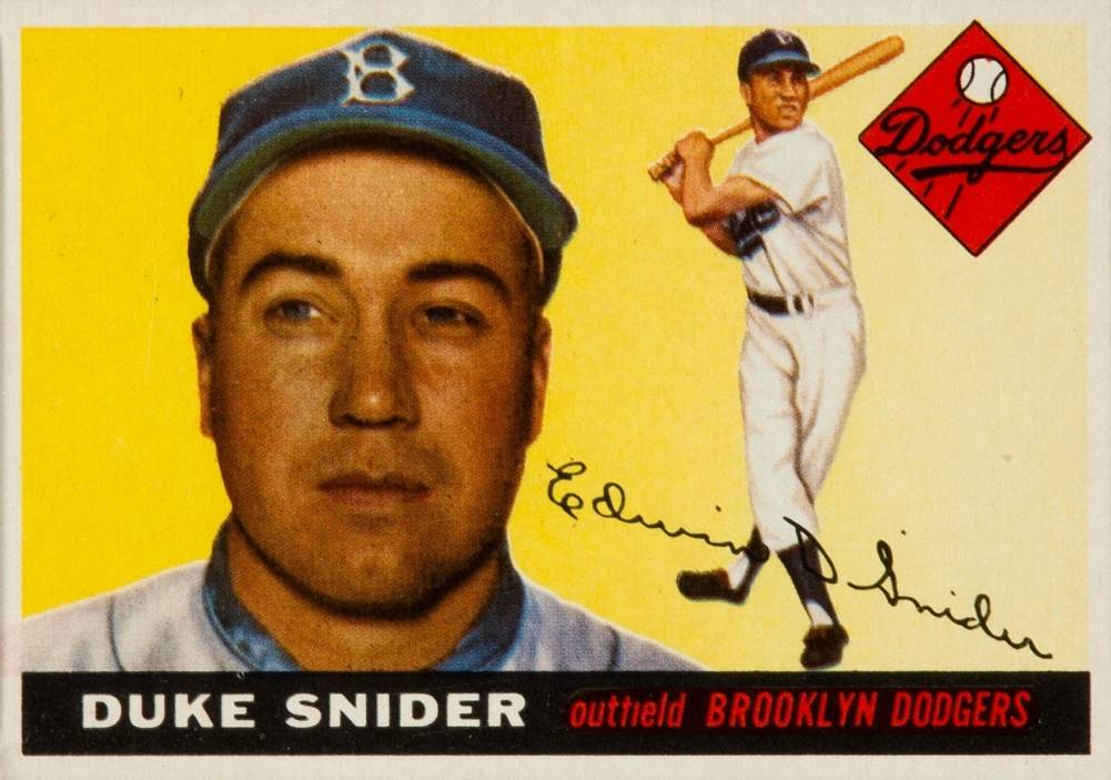 1955 Topps Duke Snider #210 Baseball Card