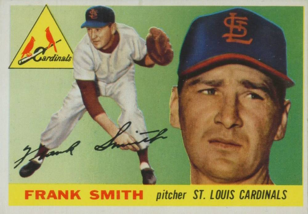 1955 Topps Frank Smith #204 Baseball Card
