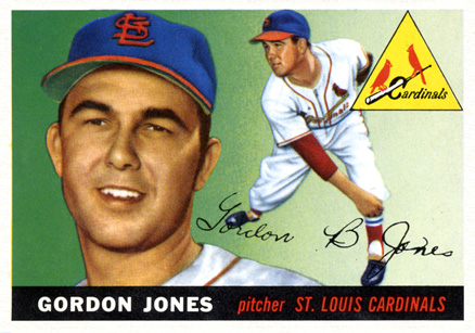 1955 Topps Gordon Jones #78 Baseball Card