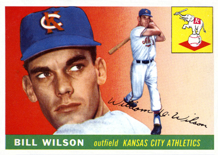 1955 Topps Bill Wilson #86 Baseball Card