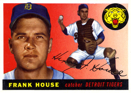1955 Topps Frank House #87 Baseball Card