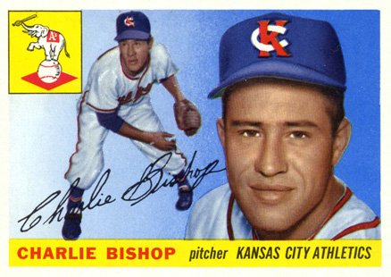 1955 Topps Charlie Bishop #96 Baseball Card
