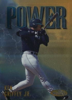 1997 Finest Ken Griffey Jr.  #342 Baseball Card