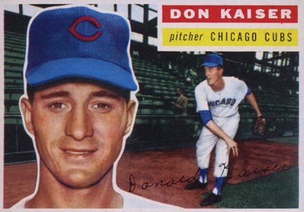1956 Topps Don Kaiser #124 Baseball Card
