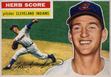1956 Topps Herb Score #140 Baseball Card