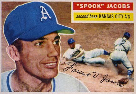 1956 Topps Spook Jacobs #151 Baseball Card