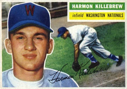 1956 Topps Harmon Killebrew #164g Baseball Card