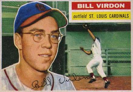 1956 Topps Bill Virdon #170 Baseball Card