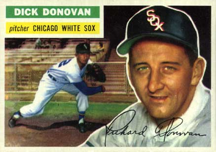 1956 Topps Dick Donovan #18 Baseball Card