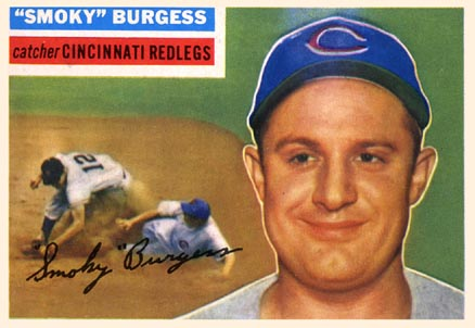1956 Topps Smoky Burgess #192 Baseball Card