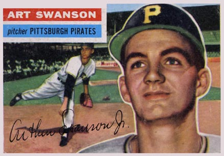 1956 Topps Art Swanson #204 Baseball Card