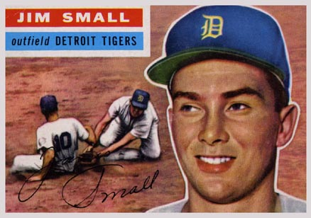 1956 Topps Jim Small #207 Baseball Card