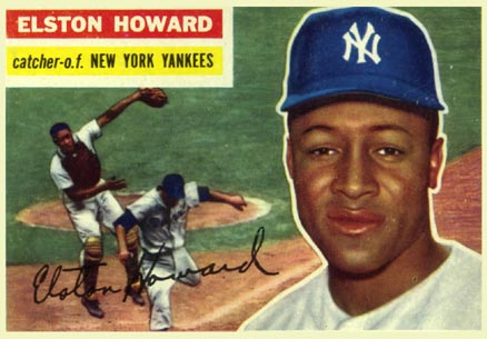 1956 Topps Elston Howard #208 Baseball Card