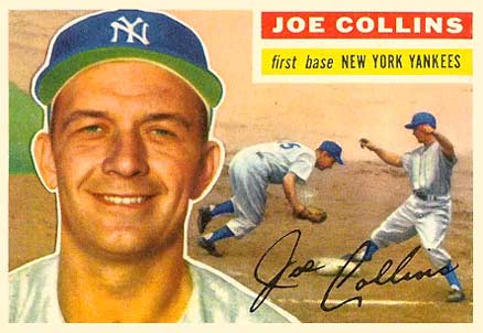 1956 Topps Joe Collins #21 Baseball Card