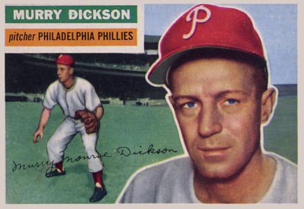 1956 Topps Murry Dickson #211 Baseball Card