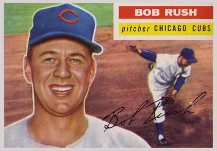 1956 Topps Bob Rush #214 Baseball Card