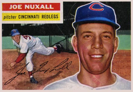 1956 Topps Joe Nuxall #218 Baseball Card