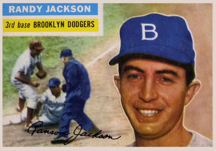 1956 Topps Randy Jackson #223 Baseball Card