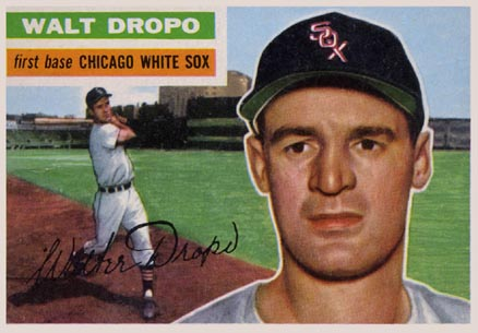 1956 Topps Walt Dropo #238 Baseball Card