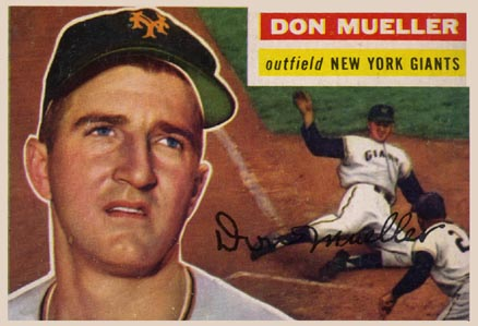 1956 Topps Don Mueller #241 Baseball Card