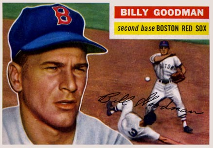 1956 Topps Billy Goodman #245 Baseball Card
