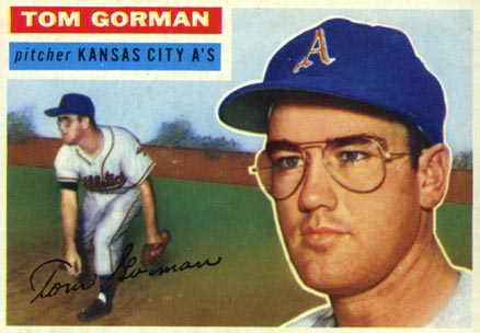 1956 Topps Tom Gorman #246 Baseball Card
