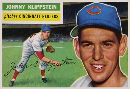 1956 Topps Johnny Klippstein #249 Baseball Card