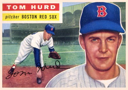 1956 Topps Tom Hurd #256 Baseball Card