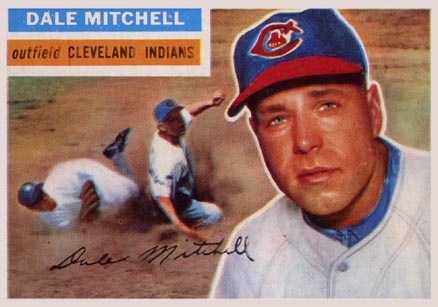 1956 Topps Dale Mitchell #268 Baseball Card