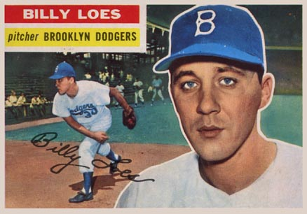 1956 Topps Billy Loes #270 Baseball Card