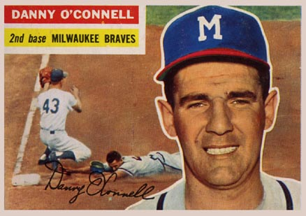 1956 Topps Danny O'Connell #272 Baseball Card