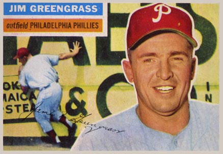 1956 Topps Jim Greengrass #275 Baseball Card