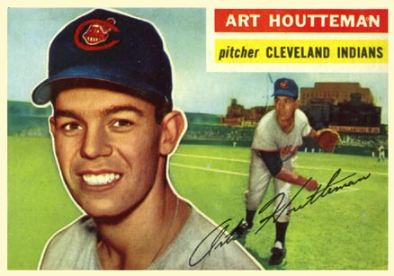 1956 Topps Art Houtteman #281 Baseball Card