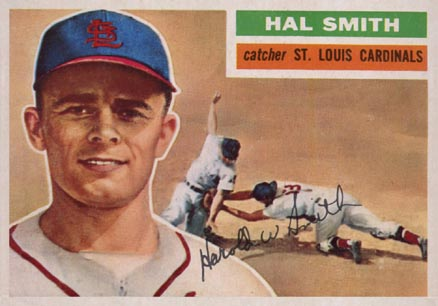 1956 Topps Hal R. Smith #283 Baseball Card