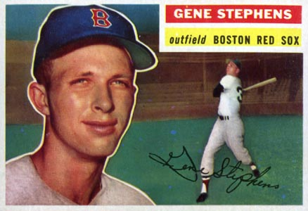 1956 Topps Gene Stephens #313 Baseball Card