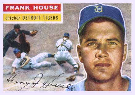 1956 Topps Frank House #32 Baseball Card