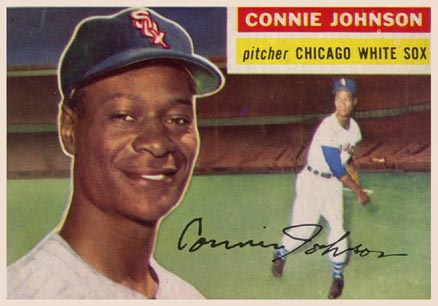 1956 Topps Connie Johnson #326 Baseball Card