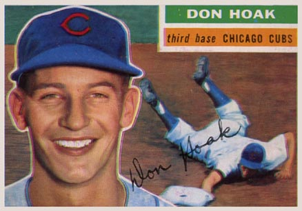 1956 Topps Don Hoak #335 Baseball Card