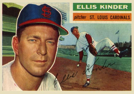 1956 Topps Ellis Kinder #336 Baseball Card