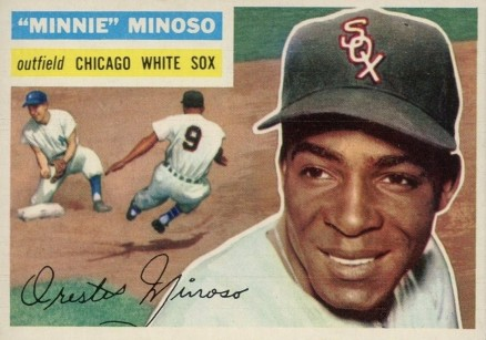 1956 Topps Minnie Minoso #125w Baseball Card