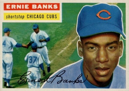 1956 Topps Ernie Banks #15g Baseball Card