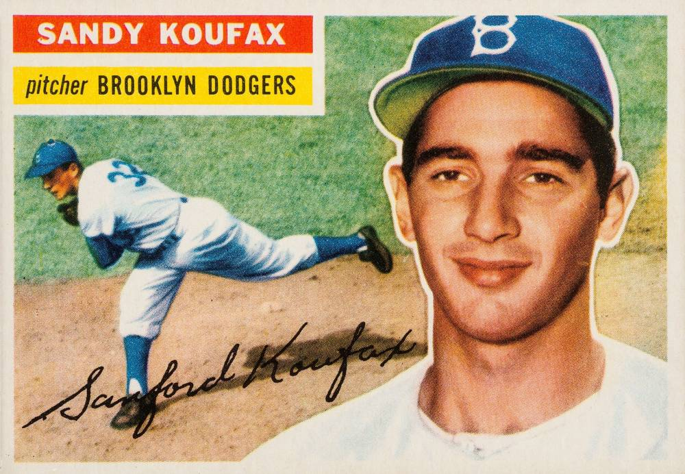 1956 Topps Sandy Koufax #79g Baseball Card